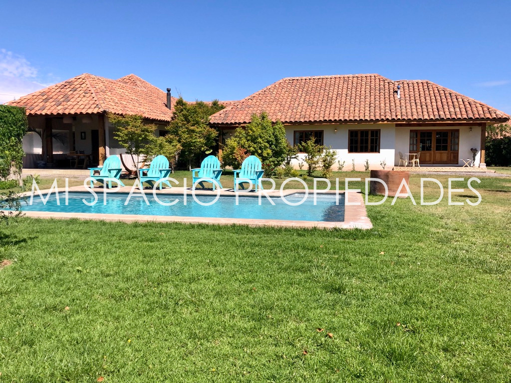 Camino Carampangue-Piscina y Jardín Consolidado